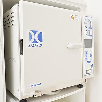 高圧蒸気滅菌器「STERI-B」